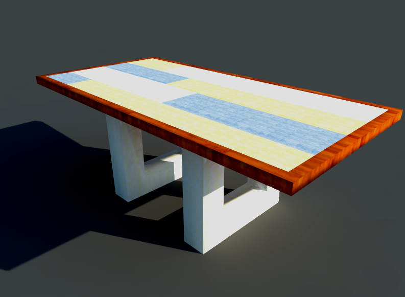 Het ontwerp for Tafel ontwerp